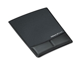 Fellowes 9180901 - Professional Series Memory Foam Wrist Rest w/Attached Mouse Pad, Black