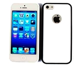 Cell Armor I5-NOV-E08-G Hybrid Case for iPhone 5 - White with Black Rim