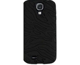 Cell Armor SAMGS4-NOV-E01-GG Hybrid Case for Samsung Galaxy S4 - Black Zebra/Black