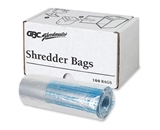 Swingline 3000 Series Shredder Bags-Poly Shredder Bags,Medium Up To 8 Gallon,100/BX,Clear