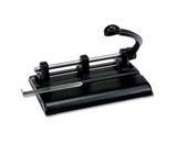 MAT1340PB - Master 40-Sheet Lever Action Two- to Seven-Hole Punch