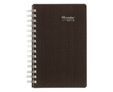 Brownline 8 X 5 Inches 2015 Duraflex Daily Planner with Twin-Wire, Black  - CB634V.BLK-15