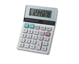 EL-310TB Twin Powered Semi-Desktop Calculator, 8-Digit LCD