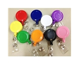 Badge Reels Id Holder 9 Pieces - 1 of Each Color