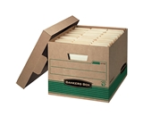 Bankers Box Earth Series Stor/File Recycled Kraft Storage Box
