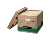 Bankers Box Stor/File 100% Recycled Medium-Duty Storage Boxes, Letter/Legal, 12 pack (12770)