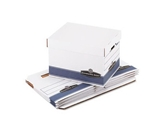 Bankers Box Stor/File Medium-Duty Storage Boxes, Letter/Legal, 4-Pack (0078907)