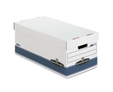 Bankers Box Stor/File Medium-Duty Storage Boxes with Lift-Off Lid, Letter, 4-Pack (0070104)