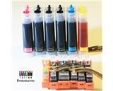 BCH&reg Continuous Ink System for Canon PIXMA MG6120, MG6220, MG8130 Printers with 6-Cartridge System