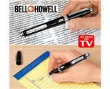 Bell & Howell Knighthawk Light Pen With Lighted LED Magnifier