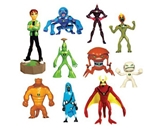 Ben 10 Alien Force Series 2 Capsule Toys Set of 10
