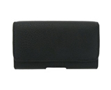 Black Horizontal Pouch for Focus i917 Samsung with Magnetic Closure