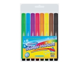 BAZIC 8 Color Jumbo Triangle Washable Markers