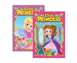 LITTLE PRINCESS Coloring & Activity Book