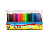 BAZIC 30 Fine Line Washable Watercolor Markers