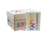 EXPERT 8.5 X 11 Pink Colored Copy Paper (10 Reams/Case)