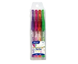BAZIC 4 Fluorescent Color Gel Pen with Cushion Grip