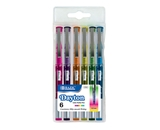 BAZIC 6 Color Dayton Rollerball Pen with Metal Clip