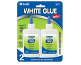 BAZIC 1.25 Oz. (37mL) White Glue (2/Pack)