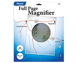 BAZIC 8.5 X 11 2x Full-Page Magnifier