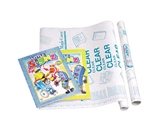 18 X 4.5 Ft. Clear Self Adhesive Book Cover