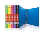 BAZIC 1 Swirl Poly 3-Ring Binder with Pocket