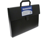 BAZIC Letter Size Document Case with Handle
