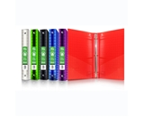 BAZIC 1 Diamond Poly 3-Ring Binder with Pocket