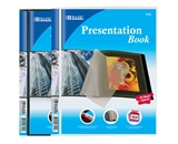 BAZIC 10-Pockets Presentation Book
