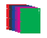 BAZIC Laminated Bright Glossy Color 2-Pockets Portfolios