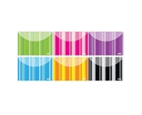 BAZIC Stripes Poly Letter Size Document Holder (2/Pack)