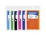 BAZIC 3 X 5 Index Card Case with 5-Tab Divider