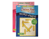 KAPPA Large Print Chicken Soup For The Soul Word Finds Puzzle Book