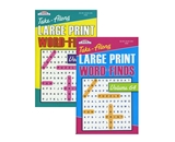 KAPPA Take Along Large Print Word Finds Puzzle Book - Digest Size
