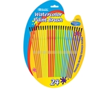 BAZIC Kids Watercolor Paint Brush (24/Pack)