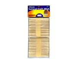 BAZIC Natural Craft Stick (100/Pack)