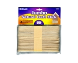 BAZIC Jumbo Natural Craft Stick (50/Pack)