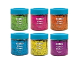 BAZIC 56.6g / 2 Oz. Neon Color Glitter Shaker with PDQ