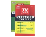 KAPPA TV Guide Word Finds & Crossword Puzzles Book - Digest Size