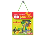 BAZIC Animal Series Assorted Sticker (80/Bag)