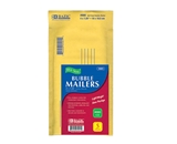 BAZIC 4 X 7.25 (#000) Self-Seal Bubble Mailers (5/Pack)