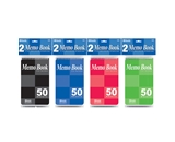 BAZIC 50 Ct. 4 X 6 Top Bound Spiral Memo Books (2/Pack)