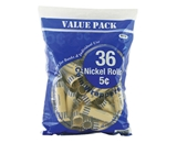 BAZIC Nickel Coin Wrappers (36/Pack)
