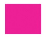 BAZIC 22 X 28 Fluorescent Pink Poster Board