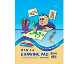 BAZIC 30 Ct. 9 X 12 Manila Drawing Pad