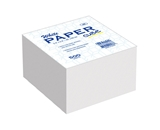 BAZIC 85mm X 85mm 500 Ct. White Paper Cube