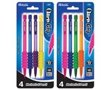 BAZIC Claris 0.7 mm Mechanical Pencil with Grip (4/Pack)