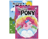 KAPPA FOIL My First Pony Coloring & Activity Book