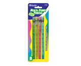 BAZIC Transparent Multi-Point Pencil (8/Pack)