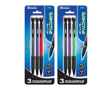 BAZIC Electra 0.7 mm Mechanical Pencil with Grip (3/Pack)